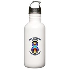 Army - Division - 8th Infantry DUI Water Bottle