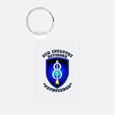 Army - Division - 8th Infantry DUI Keychains