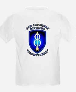 Army - Division - 8th Infantry DUI T-Shirt