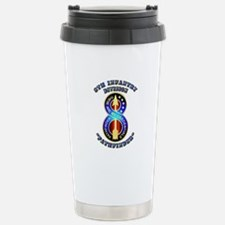 Army - Division - 8th Infantry DUI Travel Mug