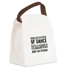 Ballroom dance designs Canvas Lunch Bag
