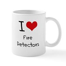 I Love Fire Detectors Mug