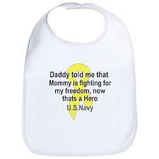 Daddy told me--U.S.Navy Bib