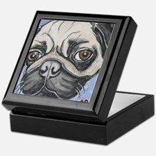 """""""In your face"""" pug by Artwork by NikiBug Keepsake"""