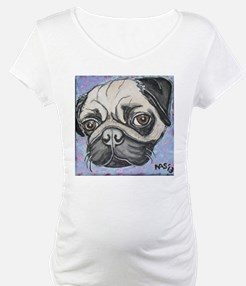 """""""In your face"""" pug by Artwork by NikiBug Shirt"""