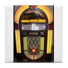 Wurlitzer bubbler jukebox Tile Coaster