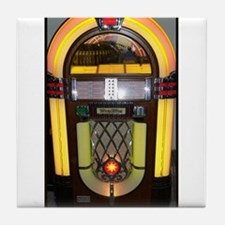 Wurlitzer bubbler jukebox Tile Coaster