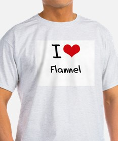 I Love Flannel T-Shirt
