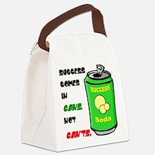 successincans2_poster.png Canvas Lunch Bag