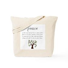 Cute Spirituality Tote Bag