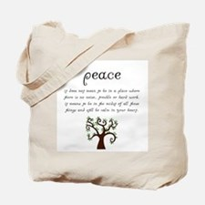Unique Zen Tote Bag