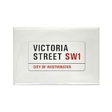 Victoria Street, London - UK Rectangle Magnet