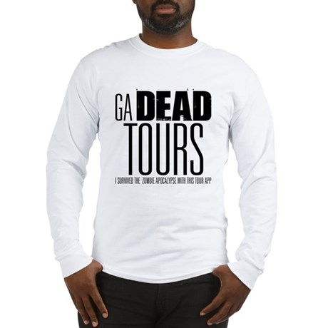 GA DEAD TOURS Long Sleeve T-Shirt