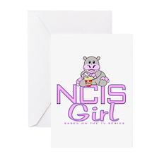 NCIS Girl Greeting Cards (Pk of 20)
