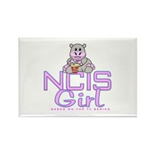 NCIS Girl Rectangle Magnet