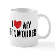 I Love My Ironworker Mug