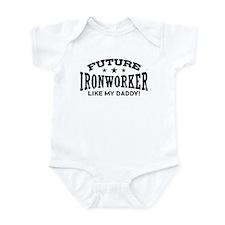 Future Ironworker Like My Daddy Onesie