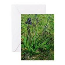 The Iris by Vincent van Gogh Greeting Cards (Pk of