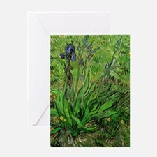 The Iris by Vincent van Gogh Greeting Card