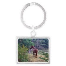 Clifford in the Woods Keychains