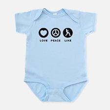 Ukulele Player Infant Bodysuit