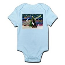 Xmas Magic & Bernese Infant Bodysuit