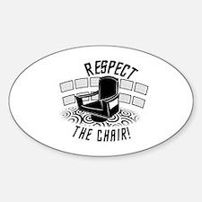 Star Trek - Respect The Chair! Decal