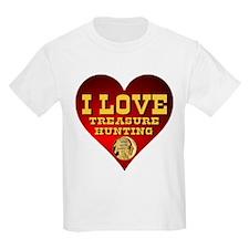 I Love Treasure Hunting T-Shirt