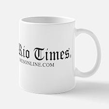 Black Logo on White Mug