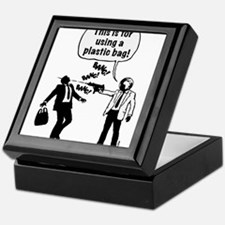 Cartoon: Anti-Plastic Waste Activist Keepsake Box