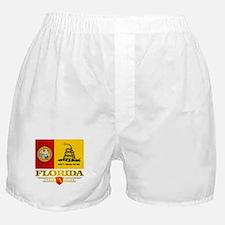 Florida Gadsden Flag Boxer Shorts