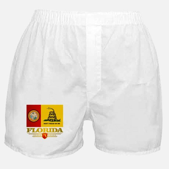 Florida Gadsden Flag Boxer Shorts
