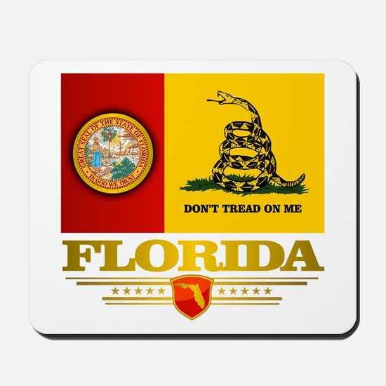 Florida Gadsden Flag Mousepad
