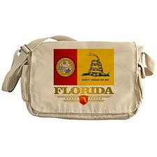 Florida Gadsden Flag Messenger Bag