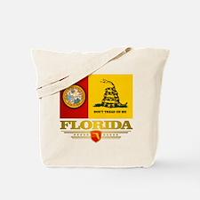Florida Gadsden Flag Tote Bag