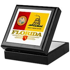 Florida Gadsden Flag Keepsake Box