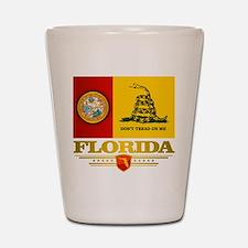 Florida Gadsden Flag Shot Glass