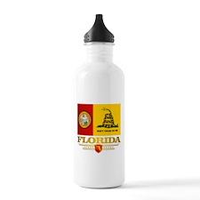 Florida Gadsden Flag Water Bottle