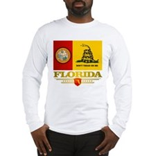 Florida Gadsden Flag Long Sleeve T-Shirt