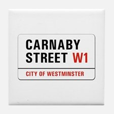 Carnaby Street, London - UK Tile Coaster