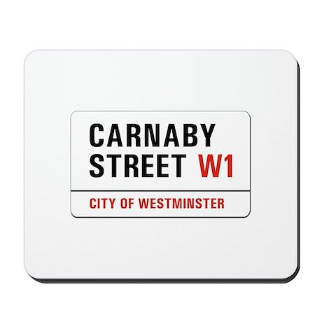 Carnaby Street, London - UK Mousepad