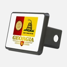 Georgia Gadsden Flag Hitch Cover