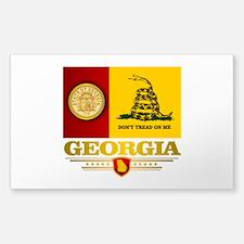 Georgia Gadsden Flag Decal
