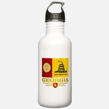 Georgia Gadsden Flag Water Bottle