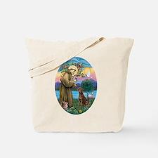StFrancis-Choc Lab Tote Bag