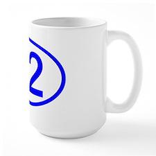 Number 82 Oval Mug