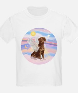 Chocolate Lab Angel T-Shirt