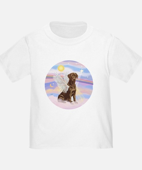 Chocolate Lab Angel T