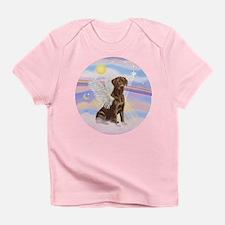 Chocolate Lab Angel Infant T-Shirt
