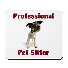 Pet Sitter Mousepad